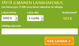 OmaLaina.fi lainalaskuri