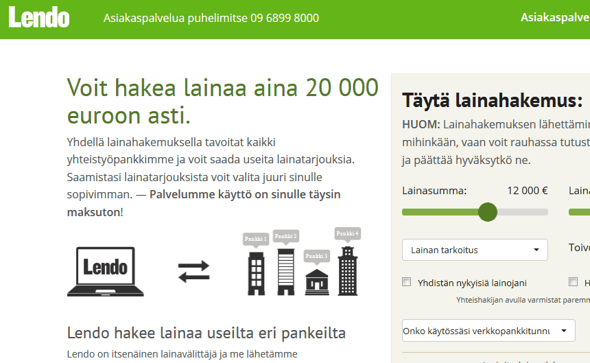 lainojen yhdistäminen Tampere