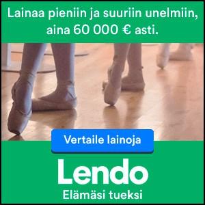 Lendo.fi: Kokeile Sitoumuksetta, Kuinka Pienen Koron Lendo Pystyy Hankkimaan Lainallesi! | Lendo.