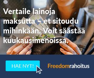 Freedom Rahoitus lainojen yhdistäminen